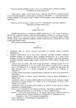 VZN mesta Levice č. 123 o miestnej dani za užívanie