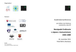 Program konferencie (.pdf)