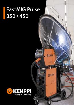 Kemppi FastMIG Pulse 350 / 450