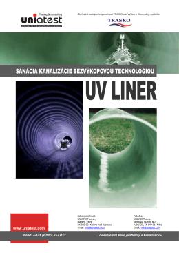 UV Liner - Uniatest s.r.o