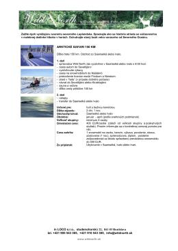 Arkticke safari [format: pdf, size 616kB]