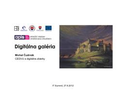 Digitálna galéria