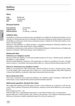 MabThera rituximab - farmako