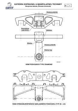 Rámy podvozkov - Strojnícka fakulta