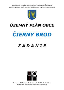 Cierny Brod Zadanie Textova cast