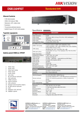 DS8116HFIST
