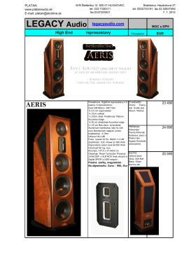 LEGACY Audio legacyaudio.com High End