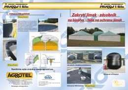 WireTarp, Biogas fólie