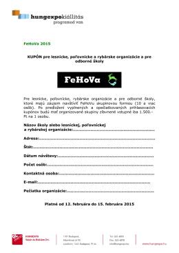 FeHoVa 2011