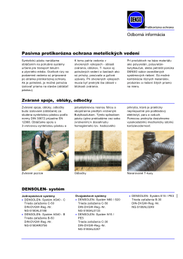 Pasívna protikorózna ochrana metelických vedení