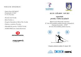 odkazom. - Združenie veteránov Slovenska v behu na lyžiach