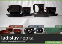 úžitková keramika - Ladislav Repka
