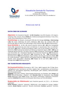 Slowakische Zentrale für Tourismus, Vertretung Österreich