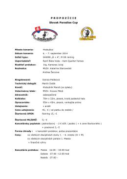 hrabušice finale 6.9.2014 Paradise Cup 2014