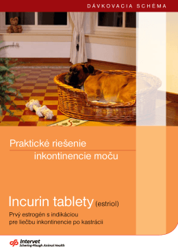 incurin tablety(estriol)