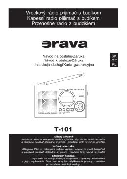 T−101 - ORAVA