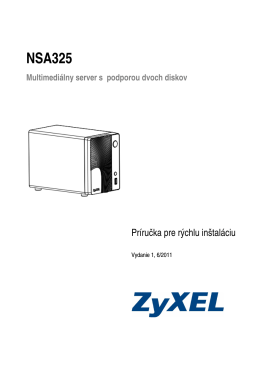 NSA325 - ZyXEL