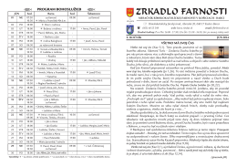 ZF jún 2014 - Rímskokatolícka farnosť Košice