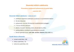 Slovenský inštitút vzdelávania ( www.siv.sk )
