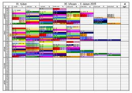 A 27. týden 2. - 9. březen 2015