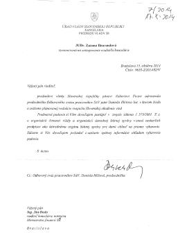 list - Odborový zväz Slovenskej akadémie vied