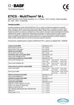 ETICS - MultiTherm® M-L