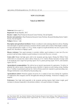 pdf - Agriculture (Poľnohospodárstvo)