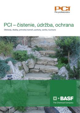PCI – čistenie, údržba, ochrana