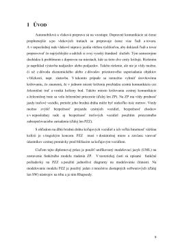 1 ÚVOD - Žilinská univerzita
