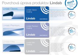 Povrchová úprava produktov Lindab