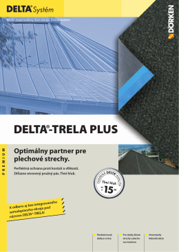 DELTA®-TRELA PLUS