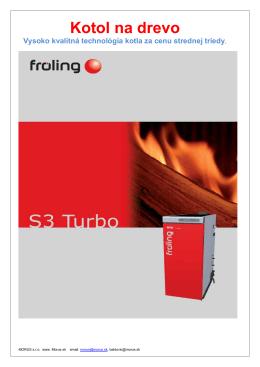 Stiahnite si Technický list S3 Turbo v PDF