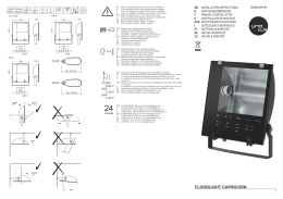 FLOODLIGHT CAPRICORN - OMS Product Database