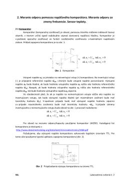 Laboratórne cvičenie č. 2