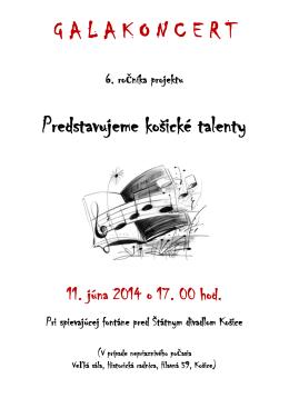 Program - 11. jún 2014