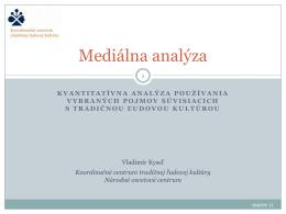 Mediálna analýza