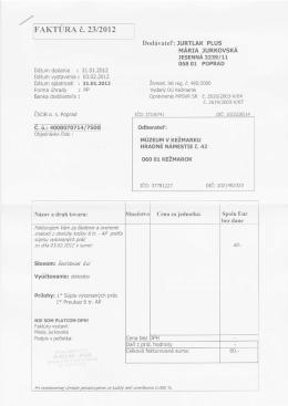 008/2012 - Múzeum v Kežmarku