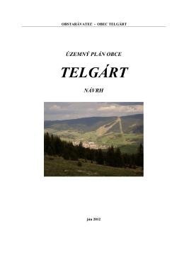 Územný plán obce Telgárt - návrh