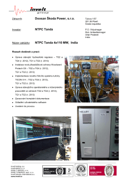 NTPC Tanda 4x110 MW 2013, Indie