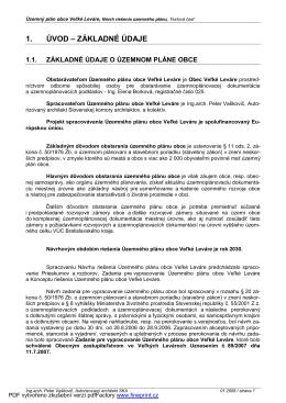 12. Územný plán návrh - text