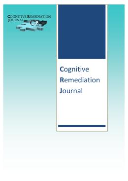 První letošní číslo Cogmed Remediation Journal