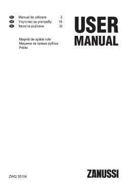 Manual de utilizare 2 Упутство за употребу 16 Návod