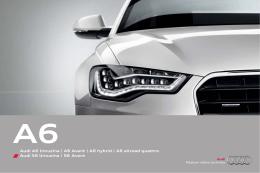 Audi A6 limuzína | A6 Avant | A6 hybrid | A6 allroad quattro Audi S6