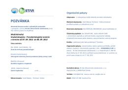 POZVÁNKA - lasak.sk