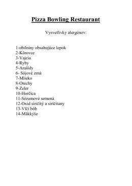 Zoznam alergénov