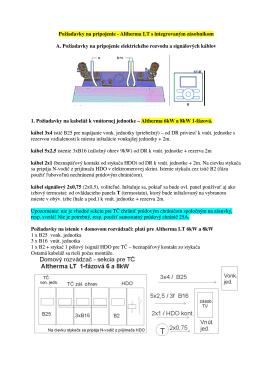 Požiadavky na pripojenie - Altherma LT s