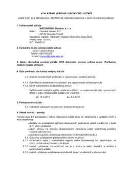 OVS Materasso - Materasso Slovakia s.r.o.
