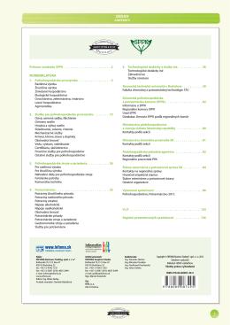 Poľnohospodárstvo - Potravinárstvo 2012