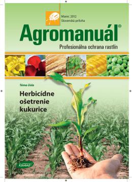 Herbicídne ošetrenie kukurice