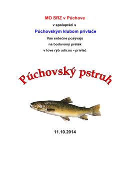 propozície Púchovský pstruh 2014